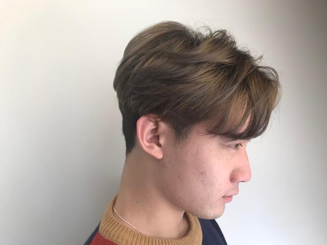 トランクス風 髪型